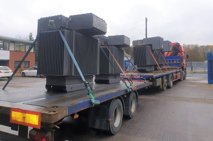 Transformer delivery